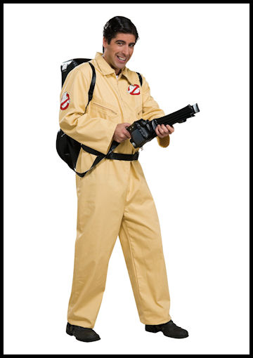Adult Deluxe Ghostbusters Costume by Halloween Costumes at Link Share