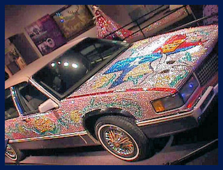 Rhinestone Car by L.A. Cargill