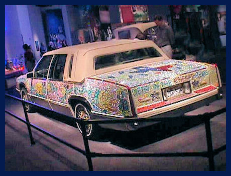 Rhinestone car back by L.A. Cargill