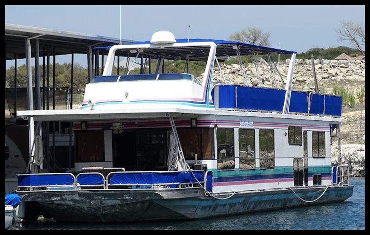 VIP Lake Travis, Austin, TX Marina Houseboat Rental photo courtesy of VIP Rentals